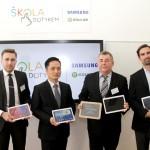 V rámci projektu Škola dotykem byla otevřena digitální třída na Gymnáziu U Libeňského zámku