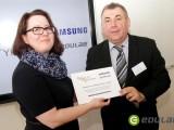 Otevření digitální třídy projektu Škola dotykem na gymnázium v Praze-Libni