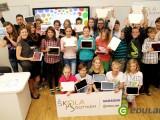 Otevření digitální třídy projektu Škola dotykem na ZŠ v Rokycanech