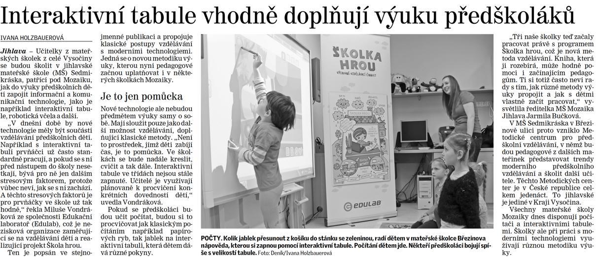 PELHRIMOVSKY DENIK_19. 2. 2016